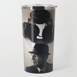 Leonard Cohen hats Travel Mug