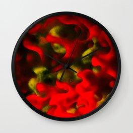 Steps of Fire Wall Clock