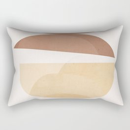 abstract minimal 7 Rectangular Pillow