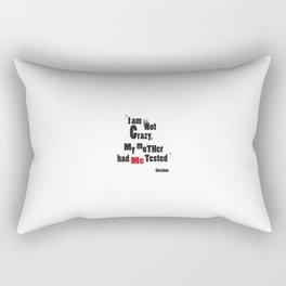 Crazy Rectangular Pillow