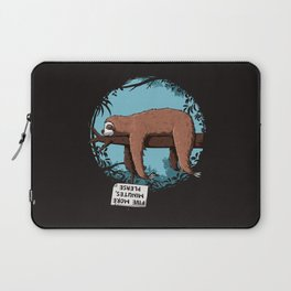 Five minutes more please Laptop Sleeve