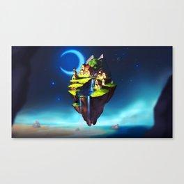 Dream Island Canvas Print