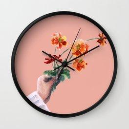 Daisies 2 Wall Clock
