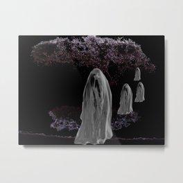 Halloween Ghosts Metal Print