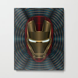 Iron Man - Arc Reactor Metal Print