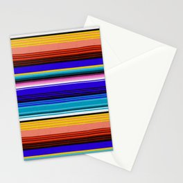 Mexican Stripes Stationery Cards