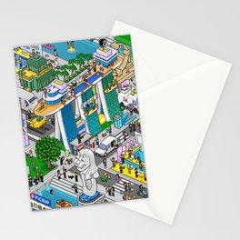 Pixels X Singapore Stationery Cards