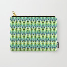 Summer Pattern Green Carry-All Pouch
