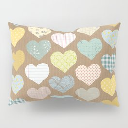 hearts pattern Pillow Sham