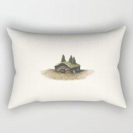 Overgrown - Cabin Rectangular Pillow