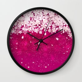 Cherry blossom #13 Wall Clock