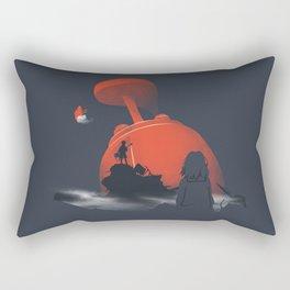 Furi Kuri - Nothing amazing happens here Rectangular Pillow