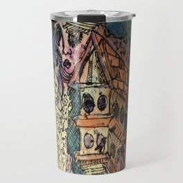 Bird House and Muses Travel Mug