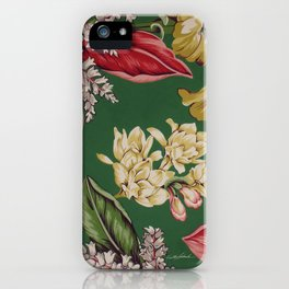 Sitting in the Garden iPhone Case