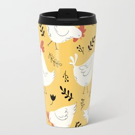 Lovely Little Hens Travel Mug