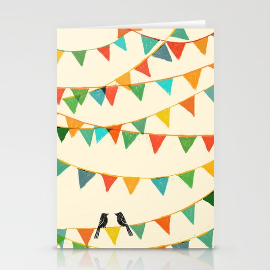 Carnival is coming to town Stationery Cards