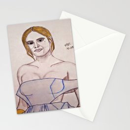 Brie Larson by Double R Stationery Cards