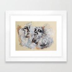 Lover's Gaze Framed Art Print