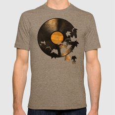 Autumn Song - colour option Mens Fitted Tee X-LARGE Tri-Coffee