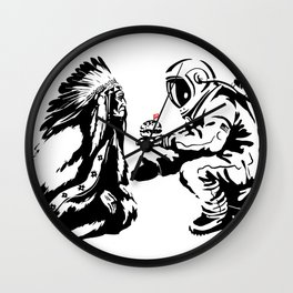 Columbus Day Wall Clock