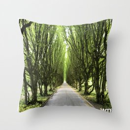 Let's take a walk, Vesterbro, Copenhagen Throw Pillow
