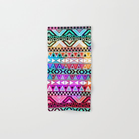 Tribal Pattern 08 Hand & Bath Towel