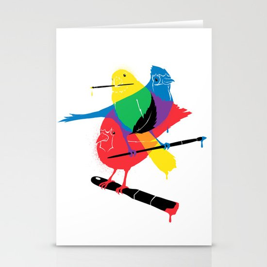 Colors of a Feather Stationery Cards