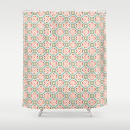 Alhambra Tile Shower Curtain