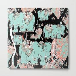 Elephantine Dreams Metal Print