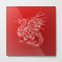 dragon 3 Metal Print