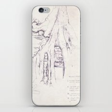 Given enough time, nature will win iPhone & iPod Skin