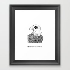 Eagle Eye (Try Something Different) Framed Art Print