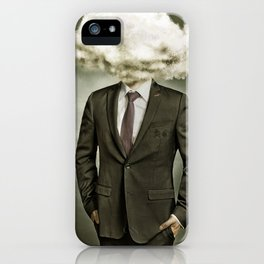Mr. Rain Cloud | Atom Bomb Poster | It Was All Business iPhone Case