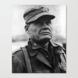 """Colonel Lewis """"Chesty"""" Puller - 1950 Canvas Print"""