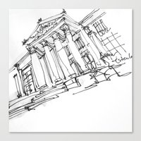 architecture Canvas Prints featuring ARCHITECTURE by cegraph