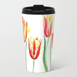 colorful tulips Travel Mug