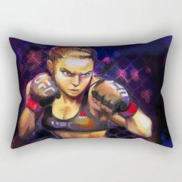 Arm Bar Queen Rectangular Pillow