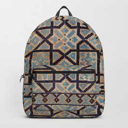 Samarkand blue ornament Backpack