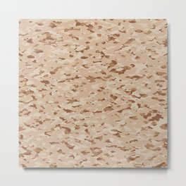 Camouflage: Arid Desert IV Metal Print