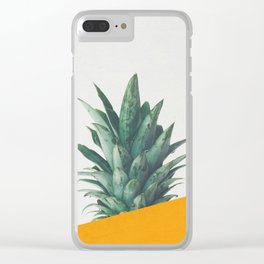 Pineapple Dip IV Clear iPhone Case