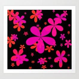 Flower Power 2 Art Print