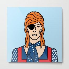 David Bowie – Halloween Jack Metal Print