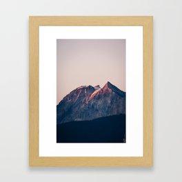 Garibaldi on Fire Framed Art Print