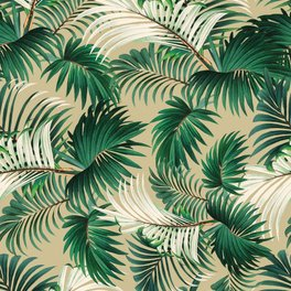 Art Print - Tropical Jungle - Burcu Korkmazyurek
