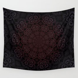 Pure Evil Pansies - Fall 2018 Wall Tapestry