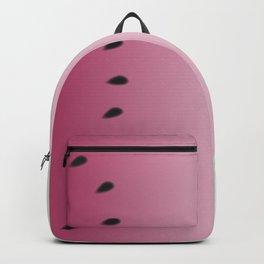 Watermelon Gradient Pink Green Backpack