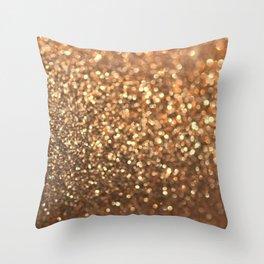Summer Bronze Throw Pillow
