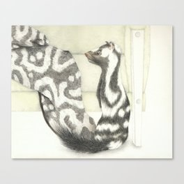Living Interiors serie - Polecat Canvas Print