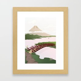 Early in the morning Framed Art Print