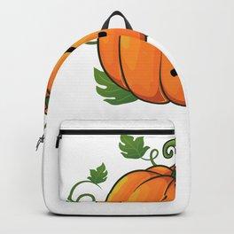 pumpkin smirk Backpack